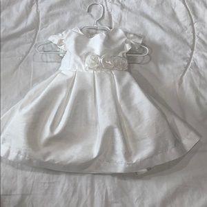 Carter's Layered White Dress